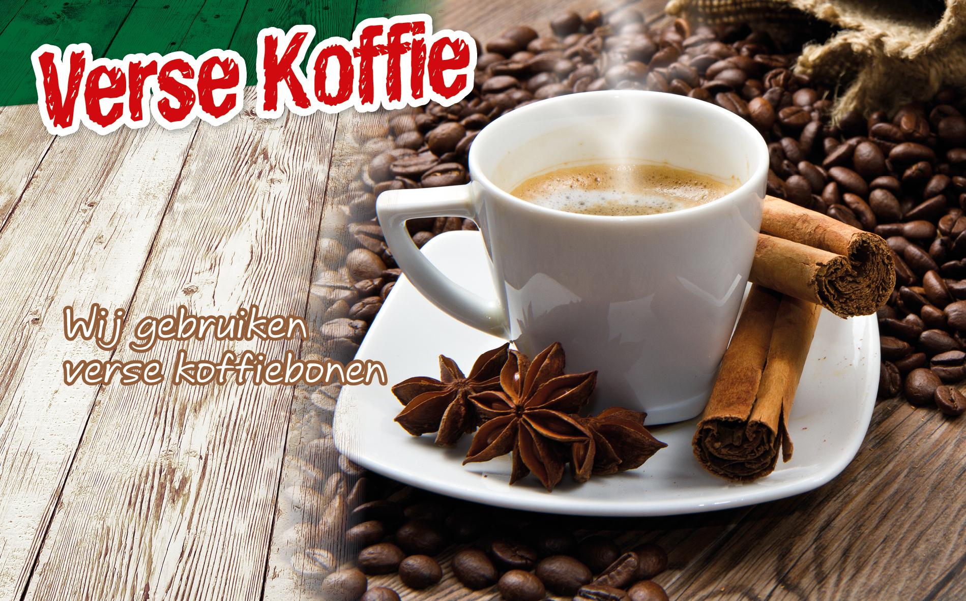 Ook voor koffie kun je terecht bij Plaza!