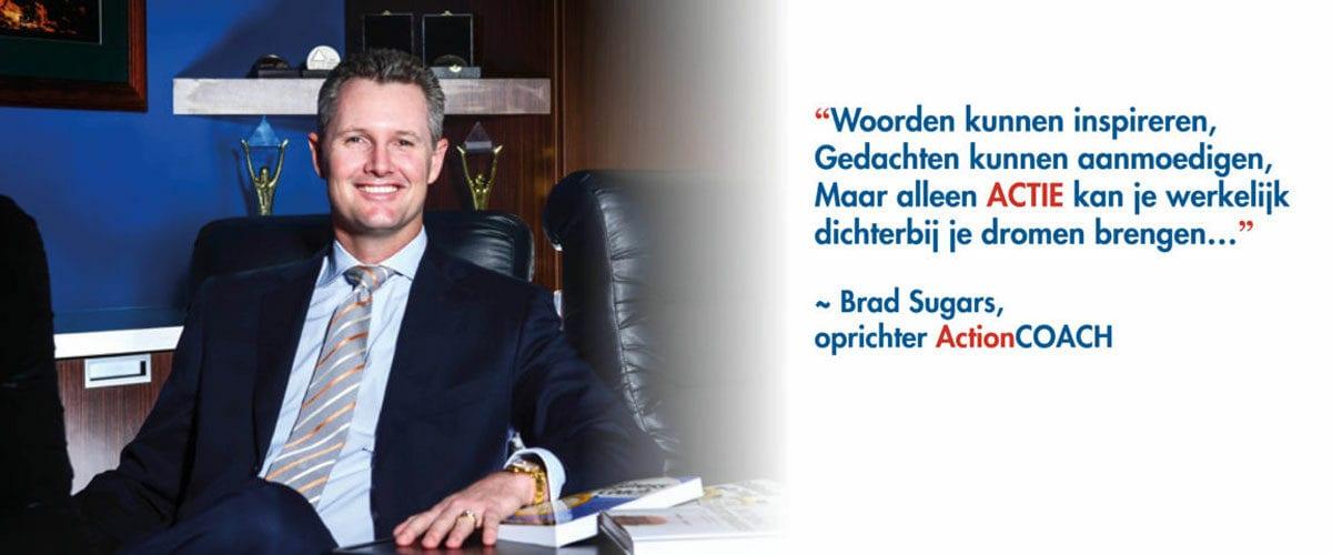 ActionCOACH franchise oprichter Brad Sugars
