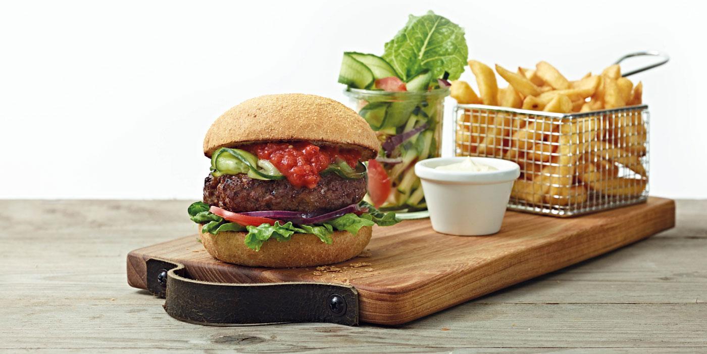 burgermenu plank - Kwalitaria