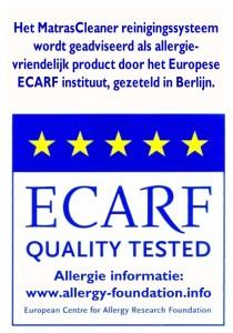 ECARF certificering