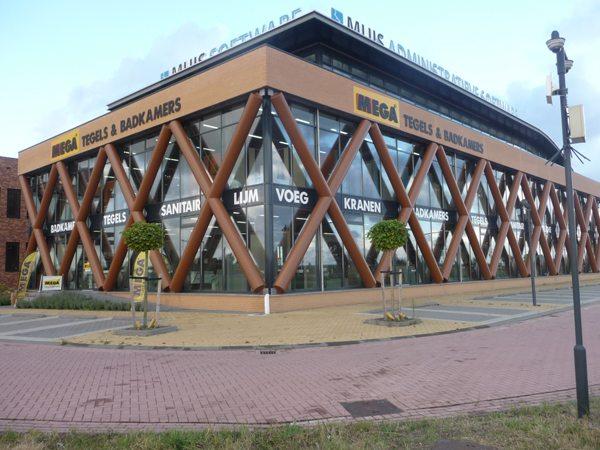 Vestiging MEGA Tegels & Badkamers in Heemskerk