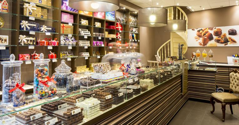 Leonidas - winkel in De Passage in Den Haag