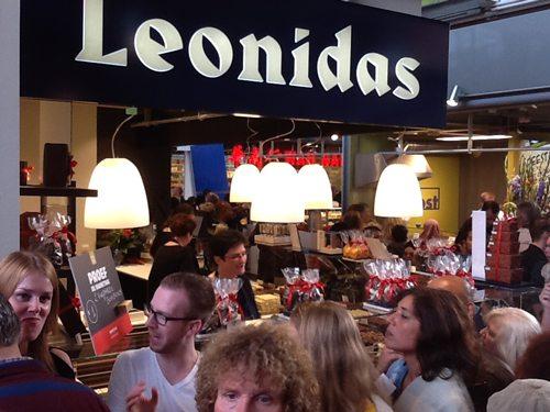 Leonidas - winkel in de markthal Rotterdam