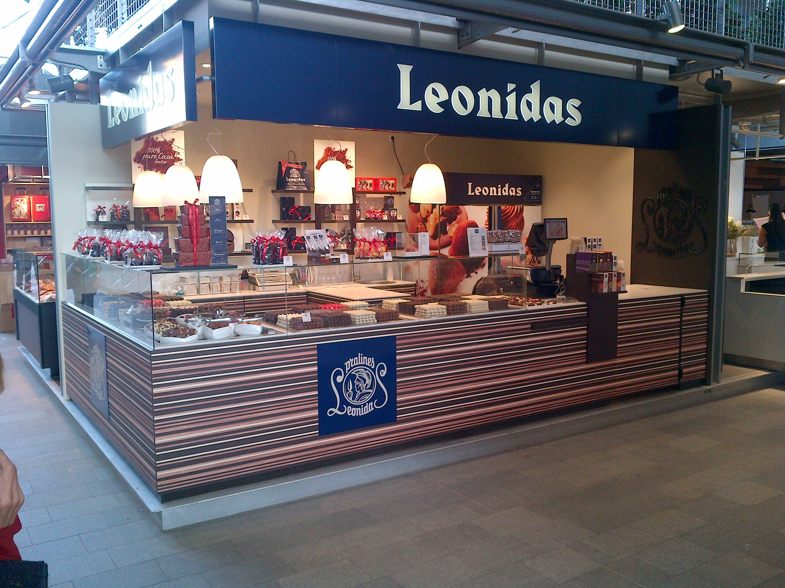 Leonidas - toonder met hoekopstelling