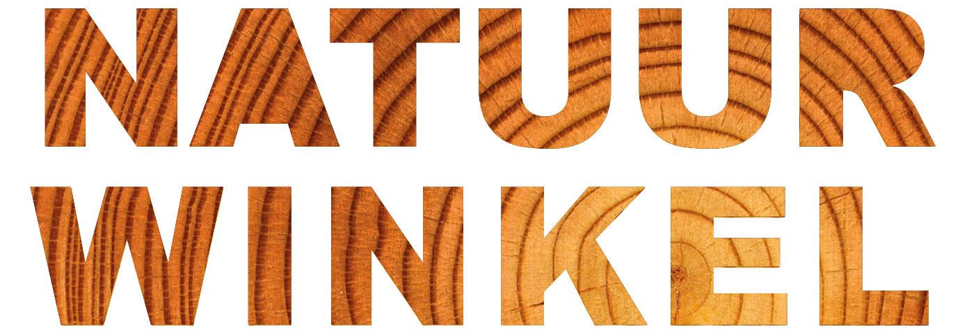 Natuurwinkel logo hout - totaal