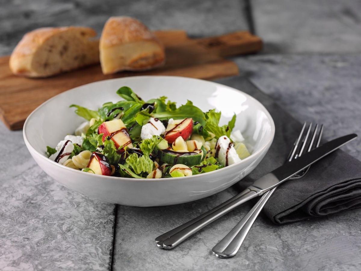 Een heerlijke salade kan ook in het assortiment!