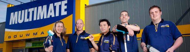 multimate bouwmarkt team voor gevel