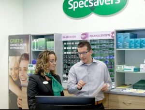 Specsavers optiek franchise winkel