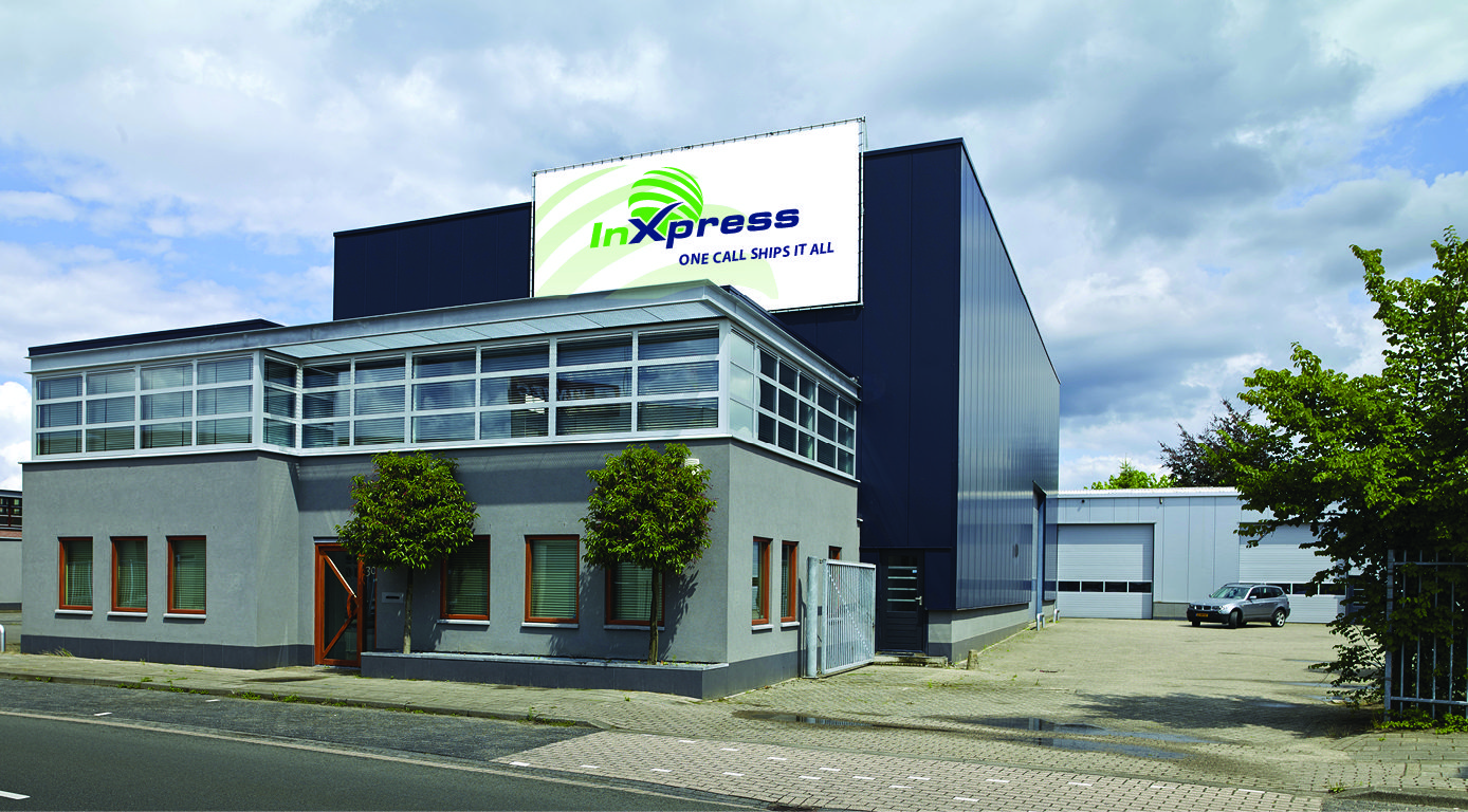 Het InXpress Support Center in Eindhoven