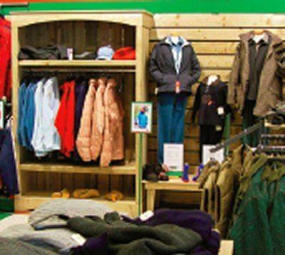 Ruime collectie outdoor kleding