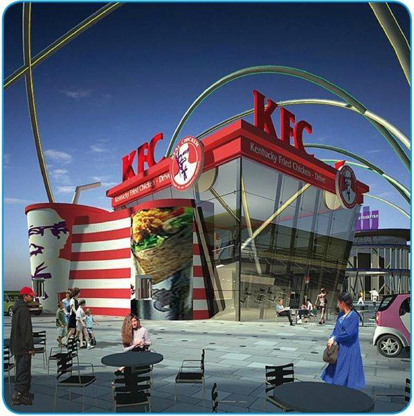 KFC Foodstrip, Amsterdam