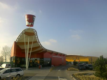 KFC Middelburg, geopend december 2009
