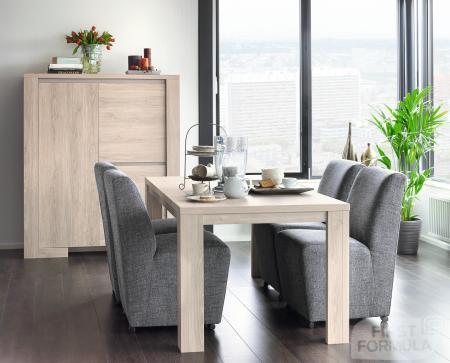 Complete lijn eigentijdse meubelen voor de woon- en eetkamer