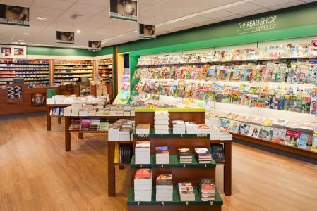 Tabak, tijdschriften dagbladen, A-boeken, kantoor- en cadeauartikelen en alle loterijen.