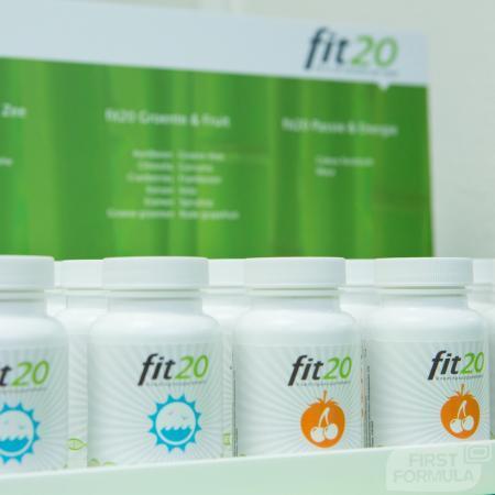 fit20 voedingssupplementenlijn met unieke, geheel natuurlijke samenstelling