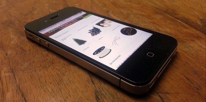 Mobiele Webshop Kerst