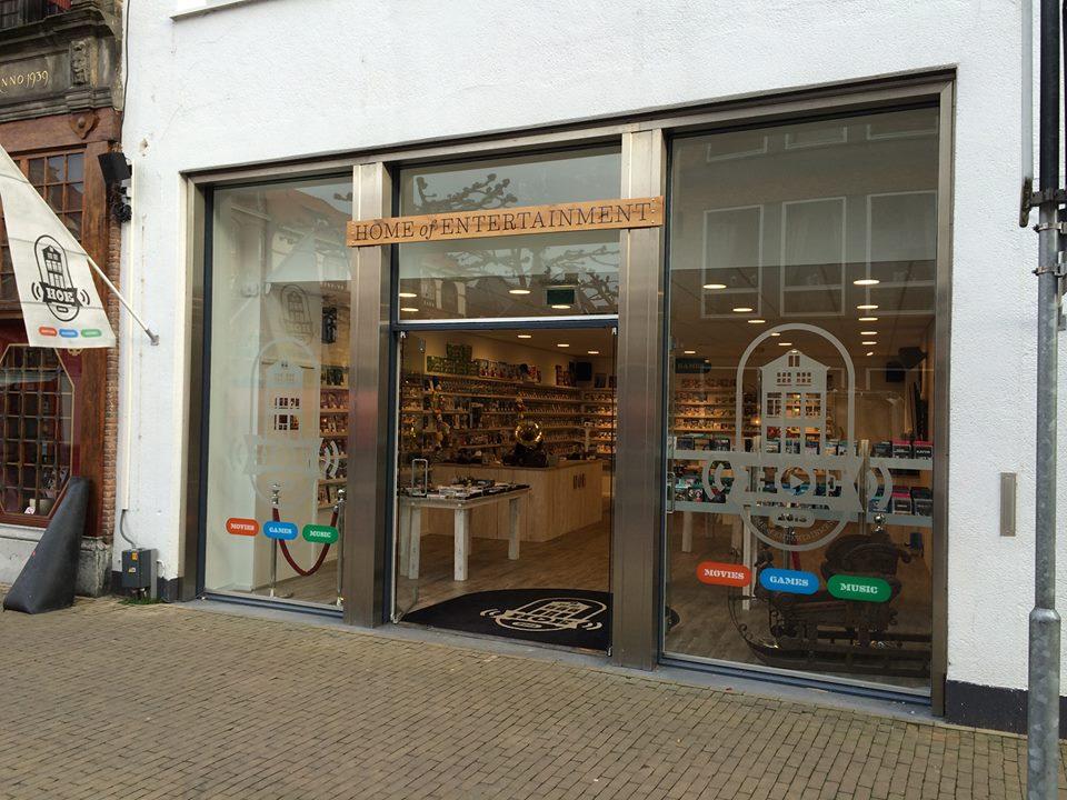 Nieuwe franchiseformule - HOE (ex free record shop)