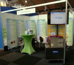 FiltaFry Plus actief op de franchisebeurs