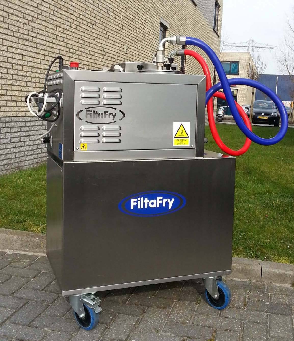 FiltsFry Plus microfiltratiemachine