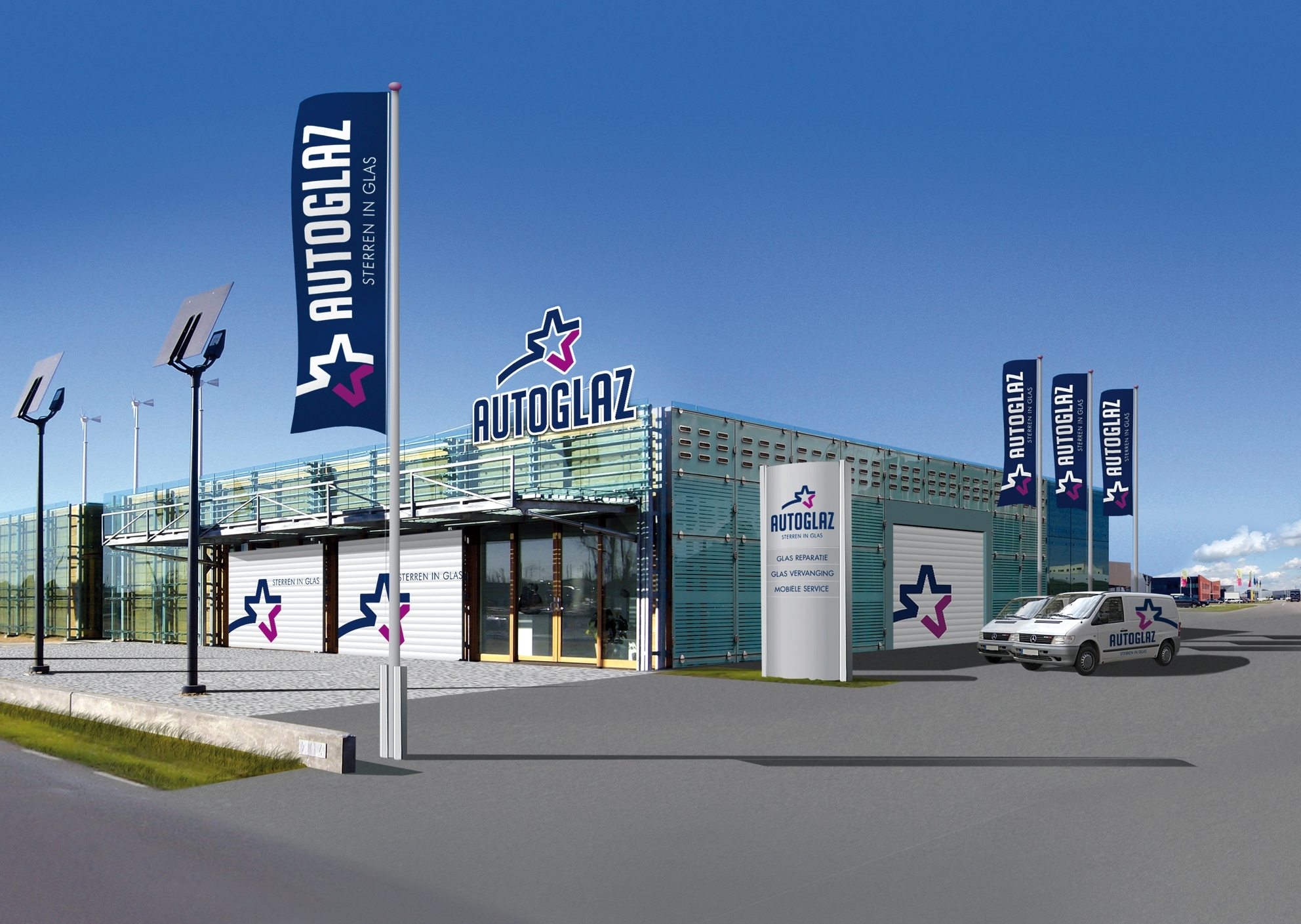 Samenwerking Autoglaz En Heck Autoglas De Nationale