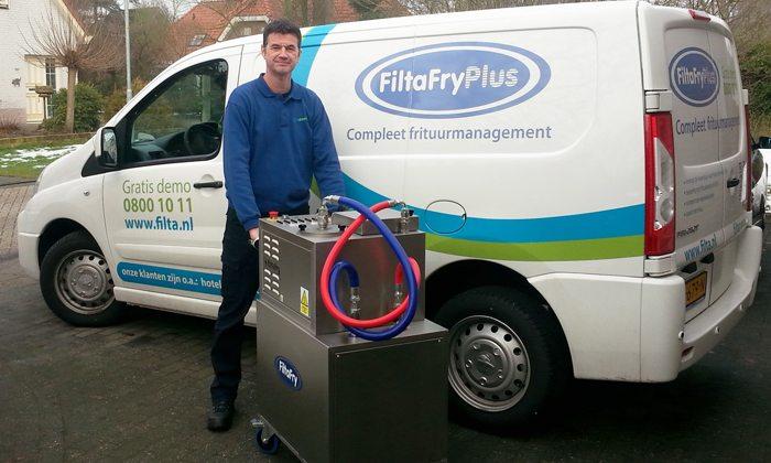 Franchisenemer Alphons Ros - FiltaFry Plus