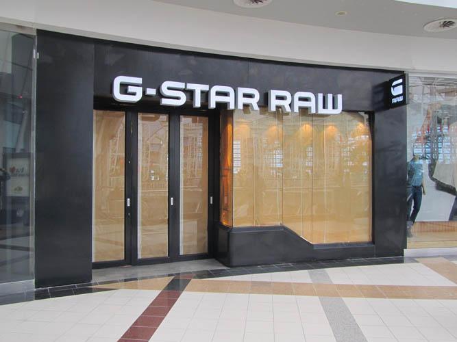 Gstar franchise gesloten