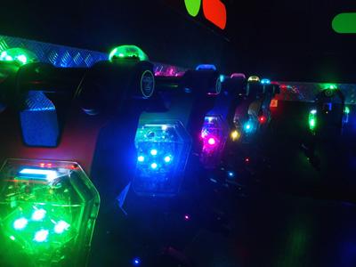 Lasertag vestenruimte