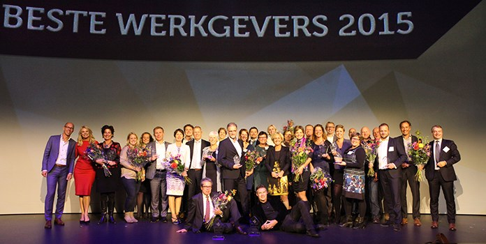Beste Werkgevers van Nederland (Effectory & Intermediair) en beste groeiers van Nederland (FD Gazellen en High Growth Awards).