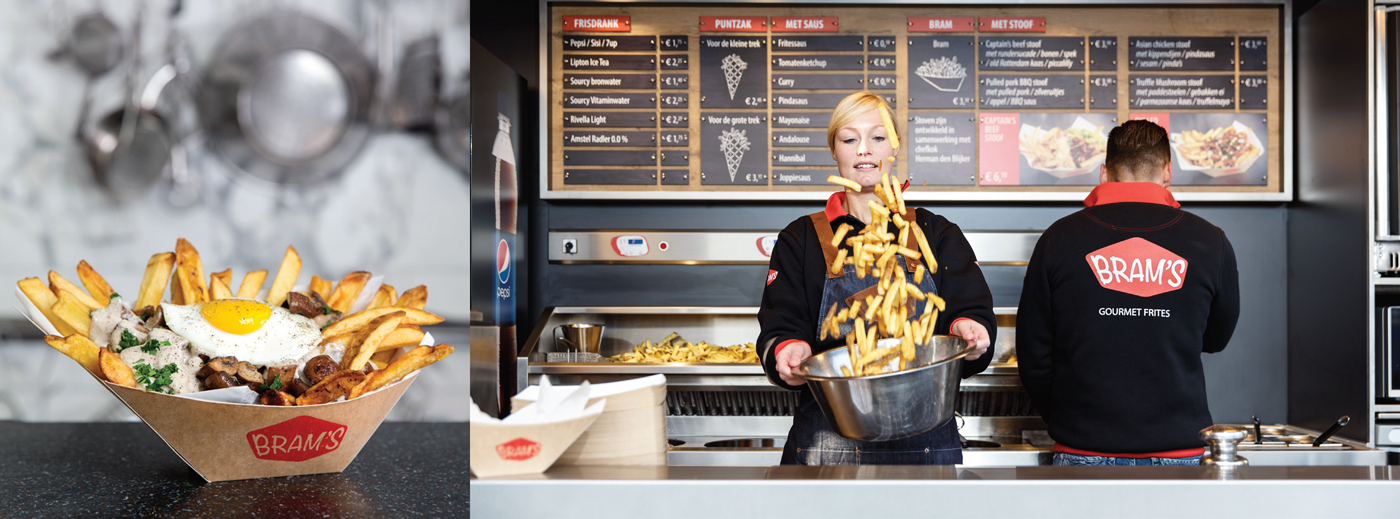 BRAM'S Gourmet Frites franchise