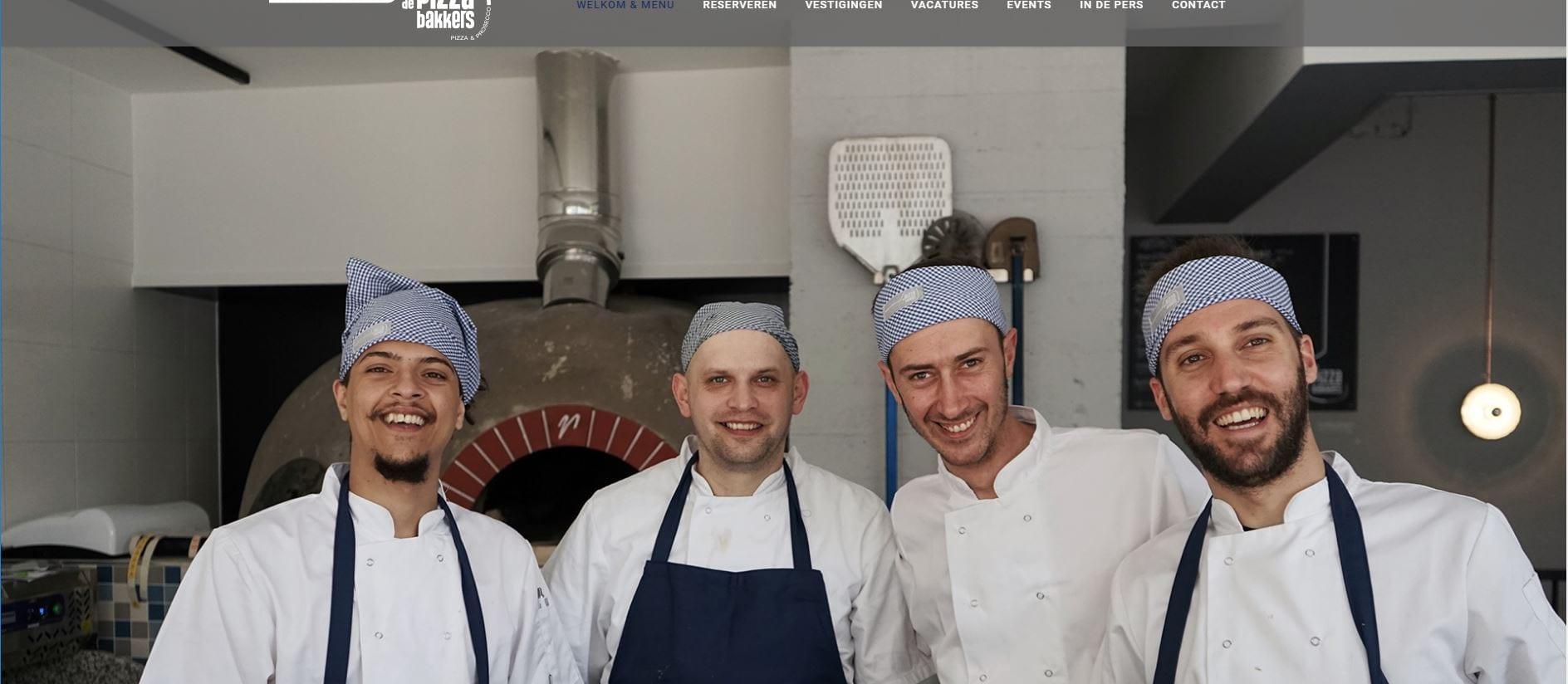 De Pizzabakkers - onze bakkers