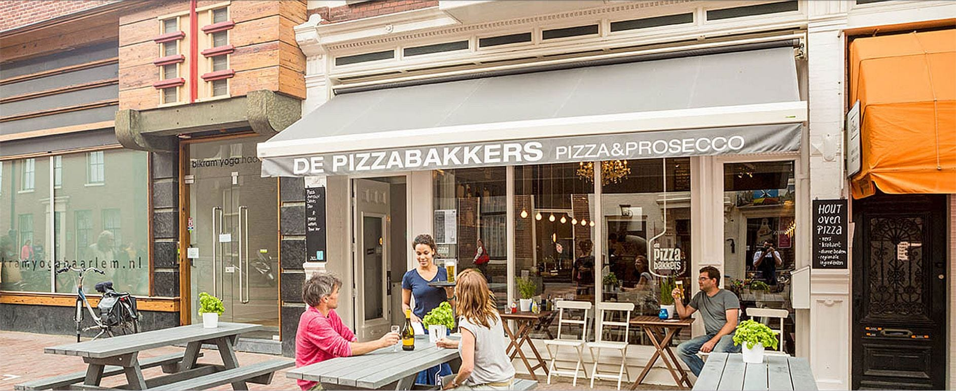 De Pizzabakkers - pizza en prosecco