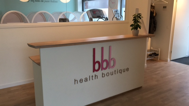 Foto interieur Franchise bbb Health boutique