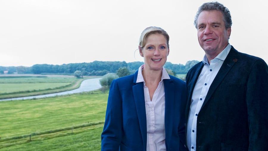 Franchisenemers Eric van Putten en Doret Geutjes Home Instead Thuisservice