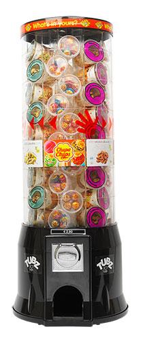 Franchise snoepautomaten