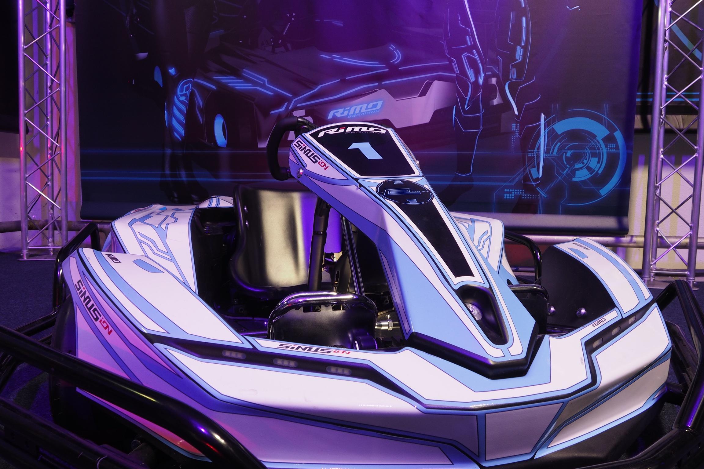 Laserspace Race elektrische karts van Rimo®