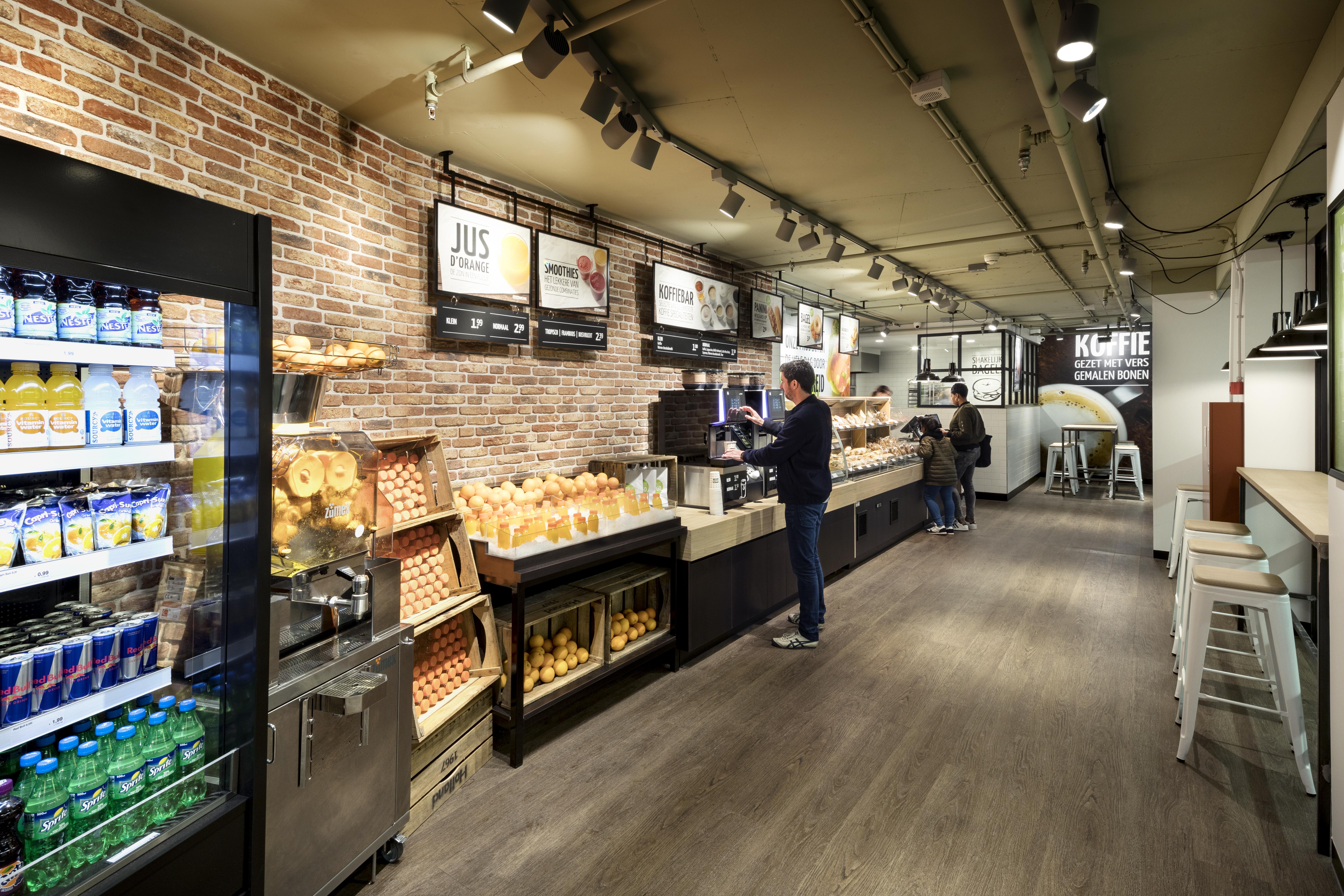 backWERK winkelbeeld Express locatie