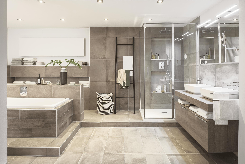 Stijlvolle luxe badkamer