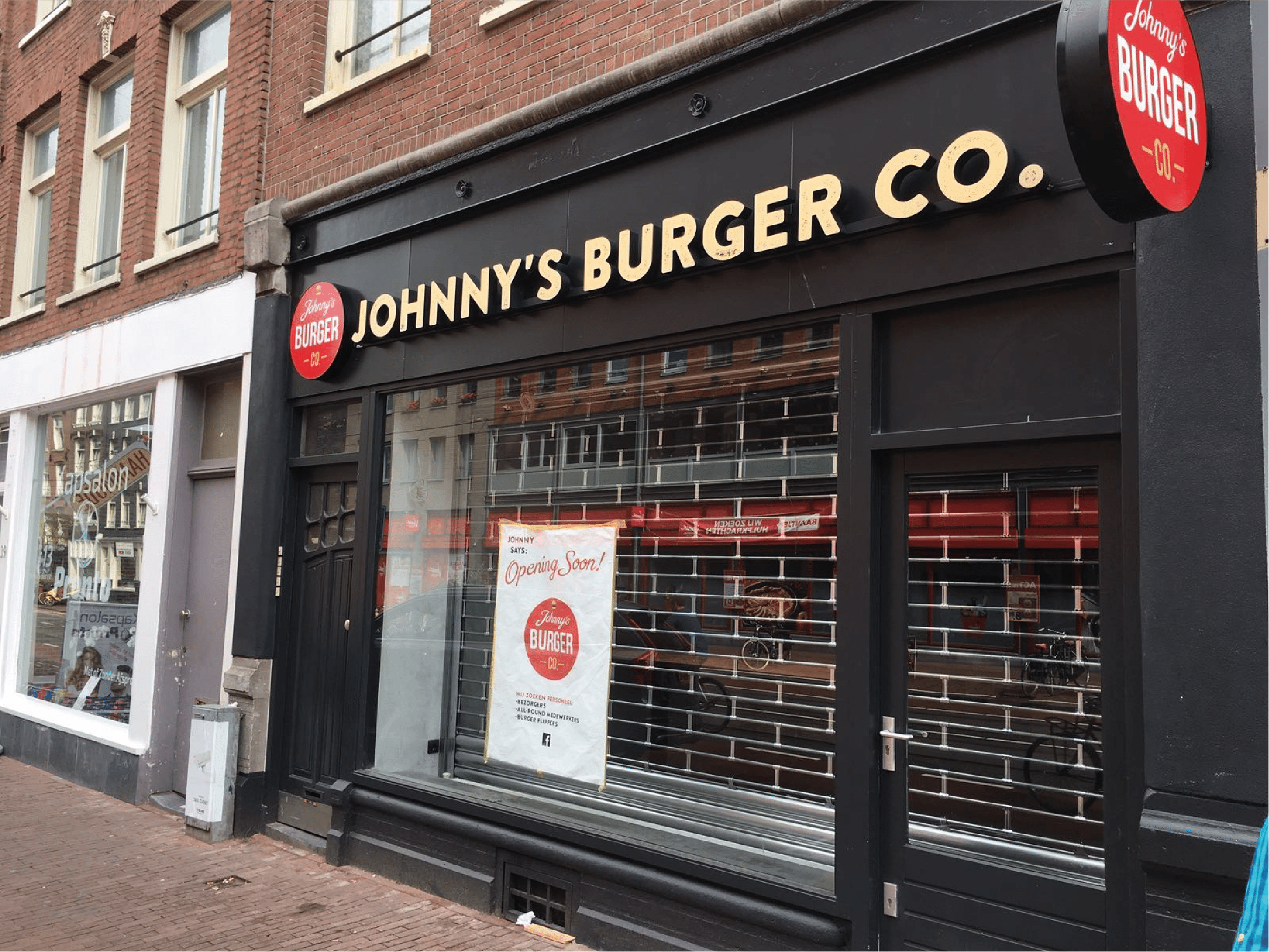 Johnny's Burger Company Amsterdam Kinkerstraat