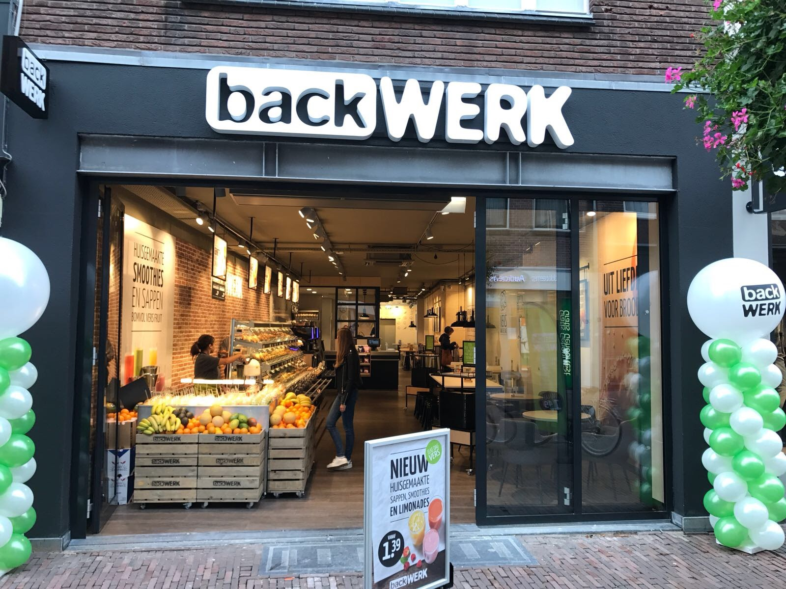 backWERK city store