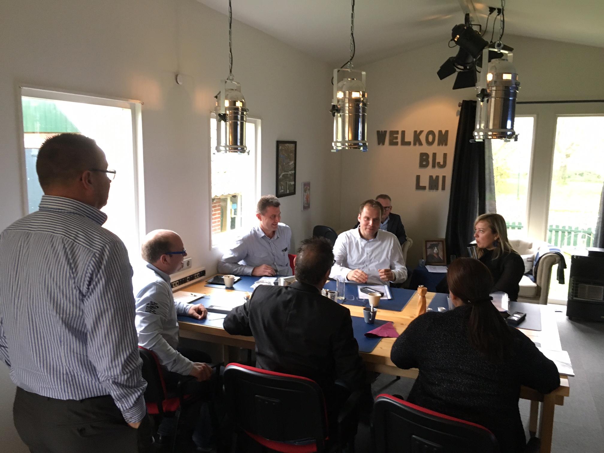 Ontbijtsessie met potentiële klanten in Oost-Gelderland