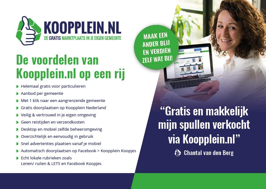 De USP's van Koopplein.nl