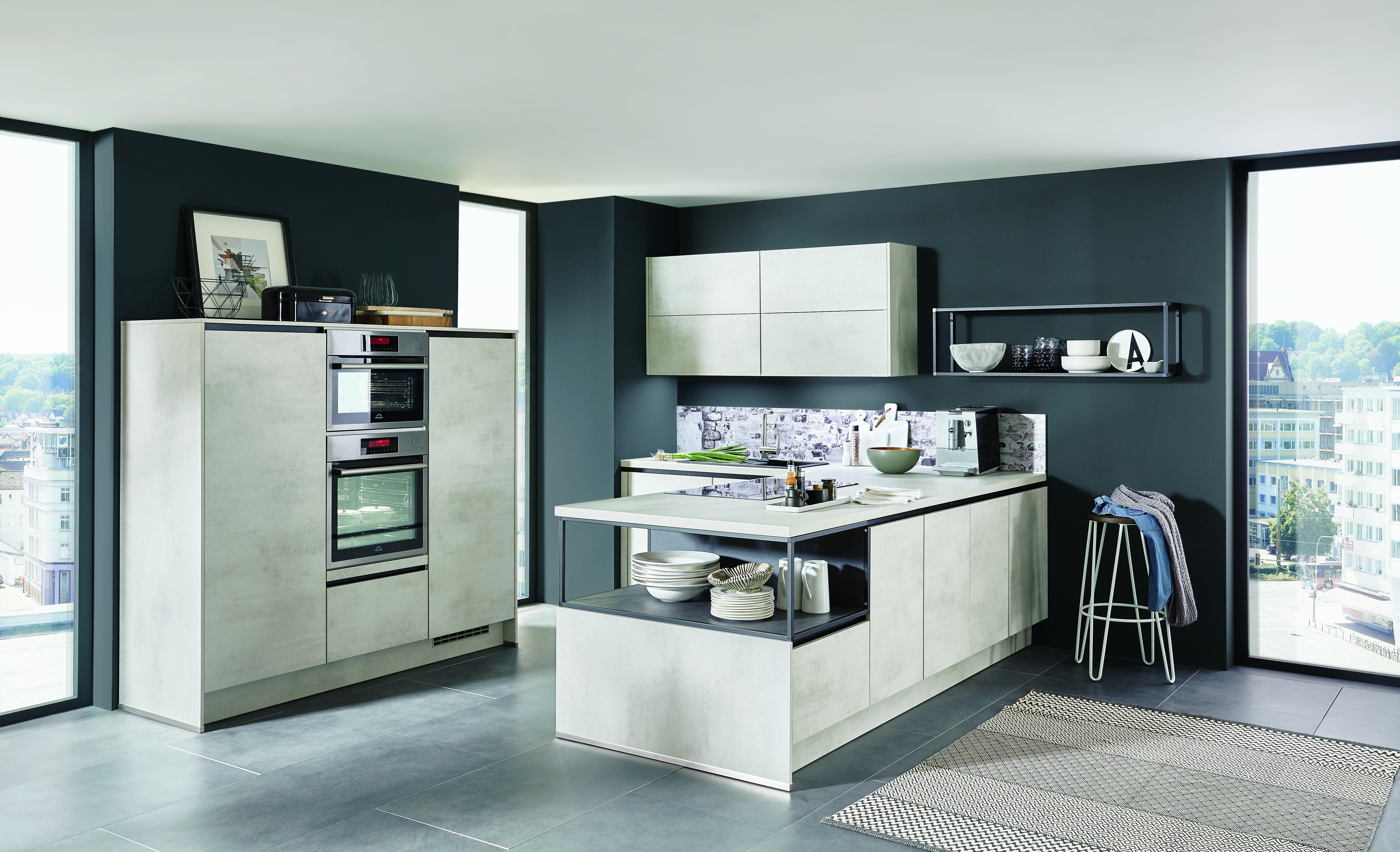 Keuken beton look