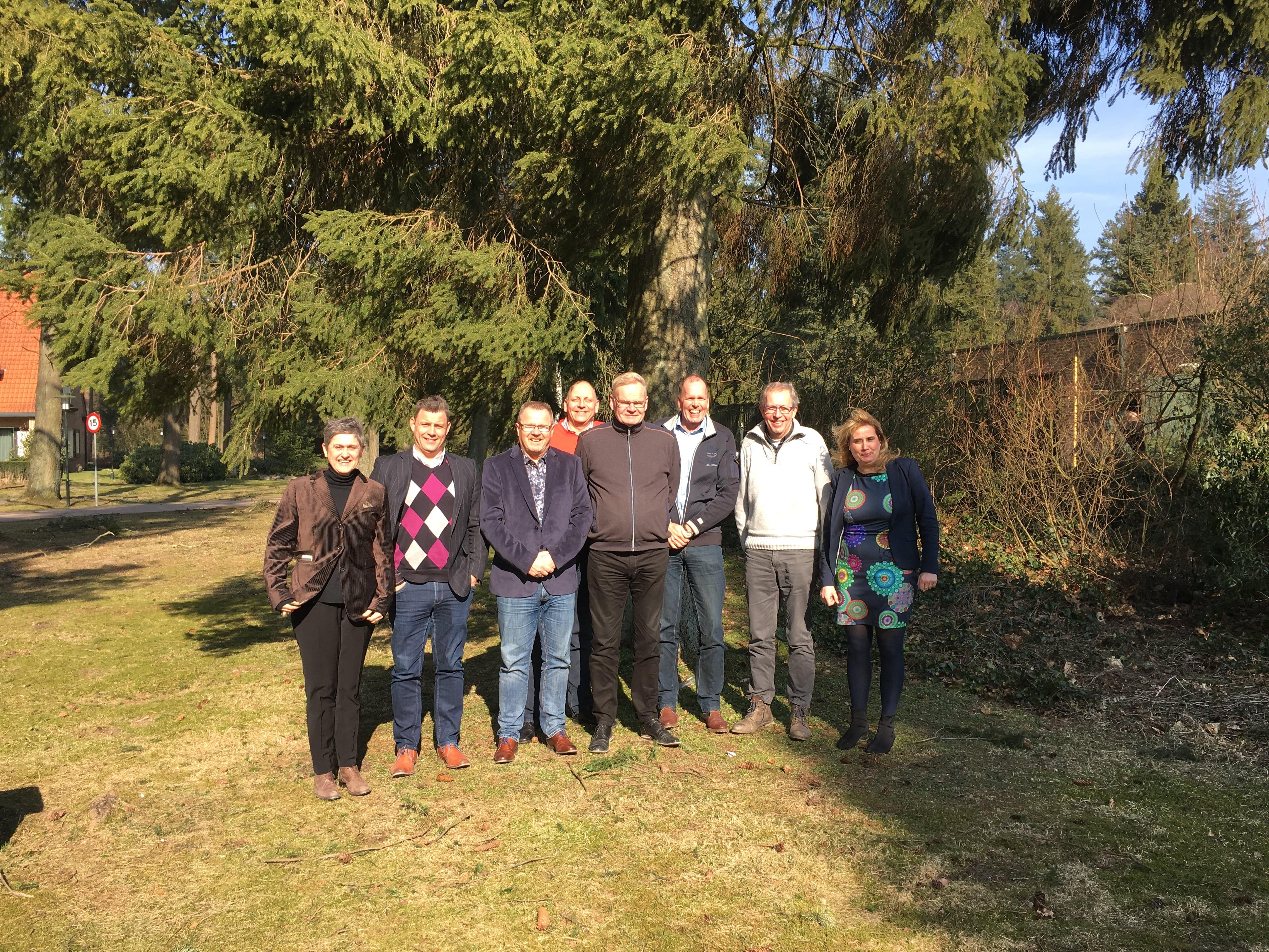 Een deel van het team van LMI Nederland in maart 2018