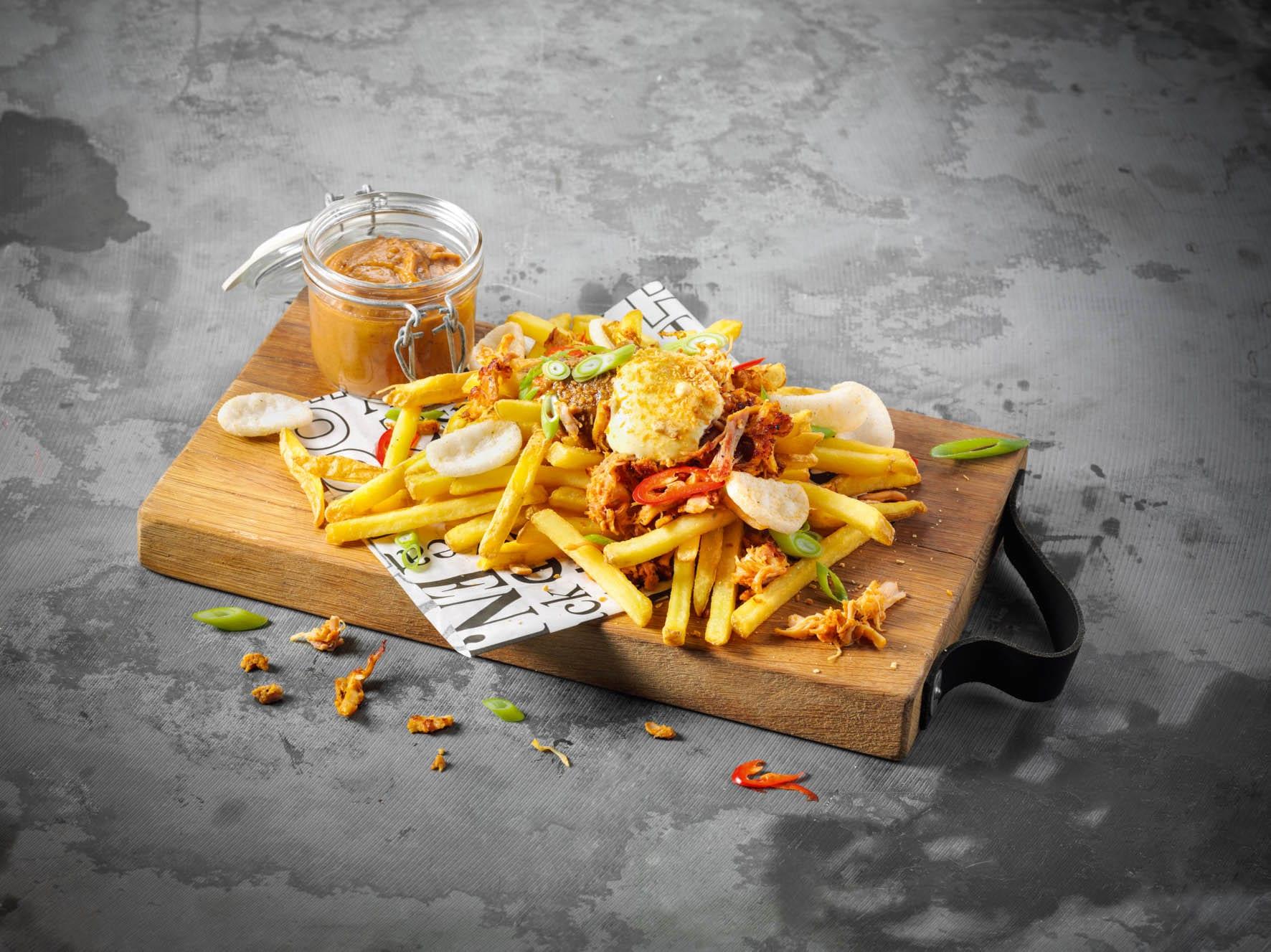 Groot succes bij Plaza, de Royals, 12 luxe getopte frites!