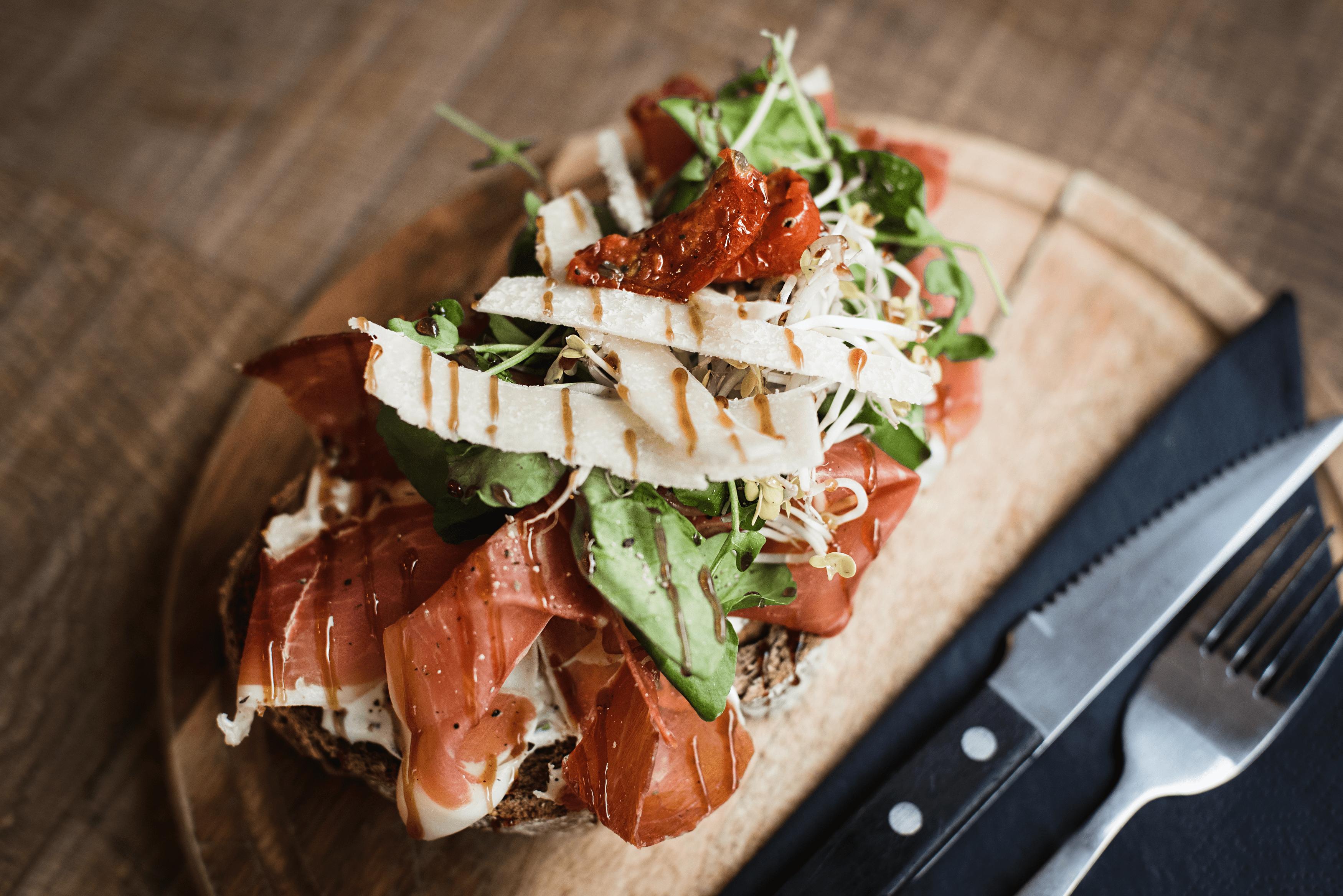 Heerlijke lunch opties in het CHCO café