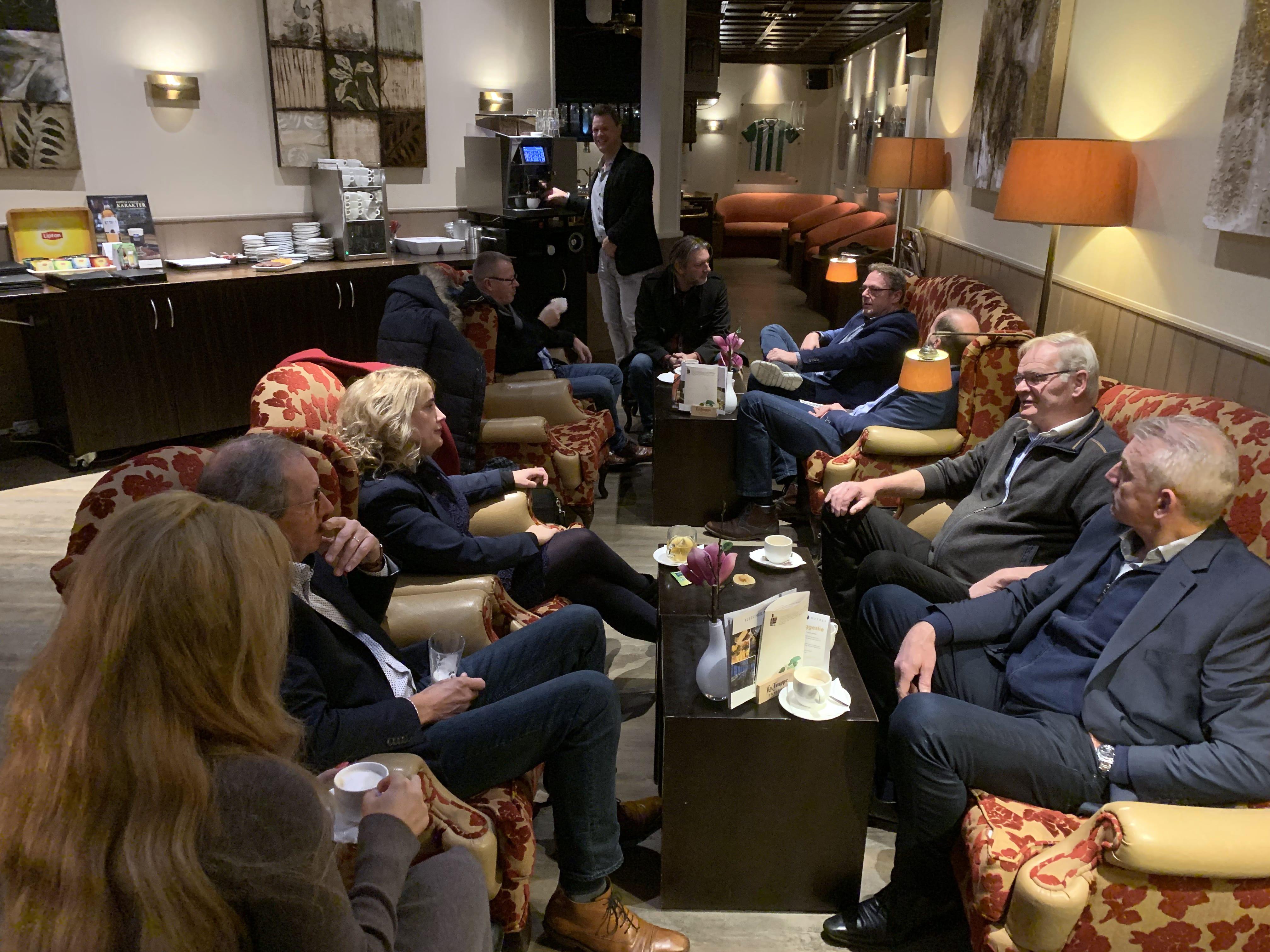De start van een LMI Nederland bijeenkomst
