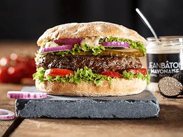 Ambachtelijk bereide Angus Beef Burgers