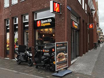 Spare Rib Express bezorgrestaurant in Woerden
