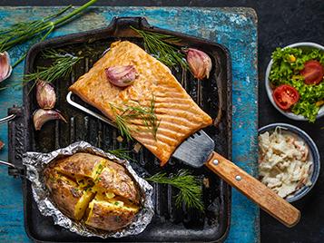 Ook gezonde vismaaltijden voor de liefhebber